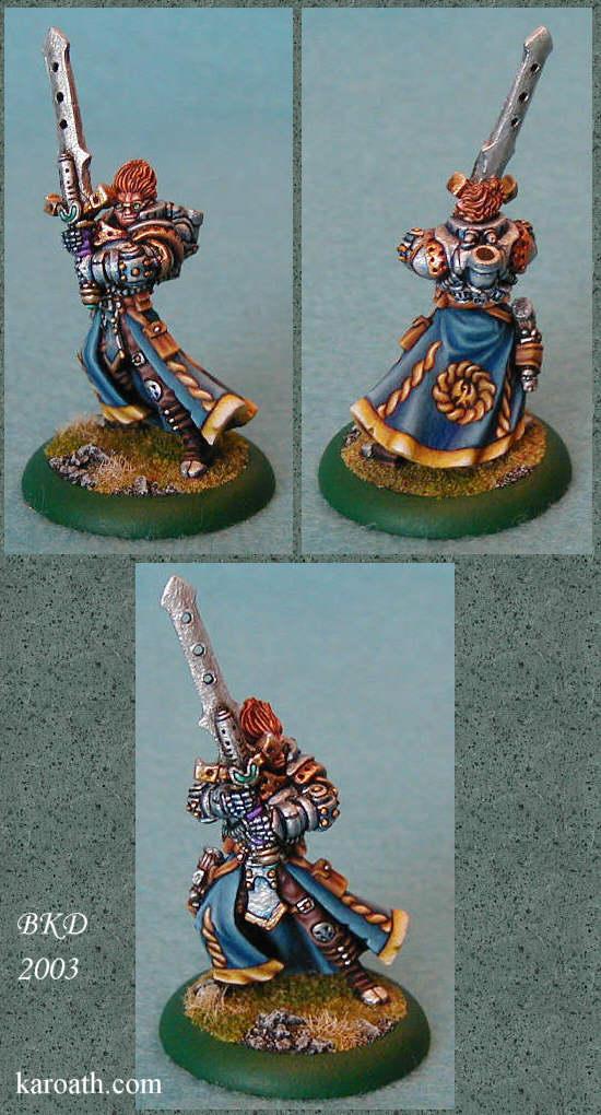 Commander Stryker (Cygnar)